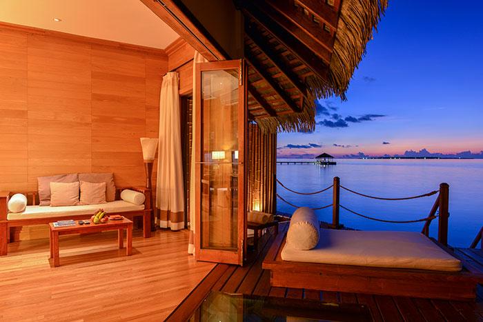 馬爾代夫精緻浪漫水上屋