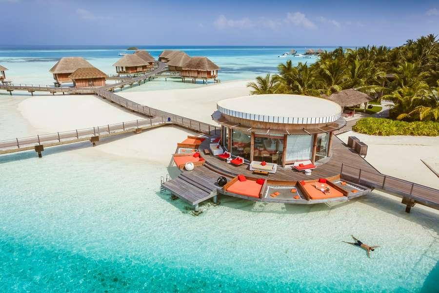 馬爾代夫Kani水上屋全包式蜜月套票